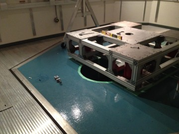 A new STM system under construction in the Nano G low vibration room